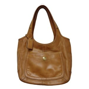 Coach XL Leather Ergo Legacy Tote